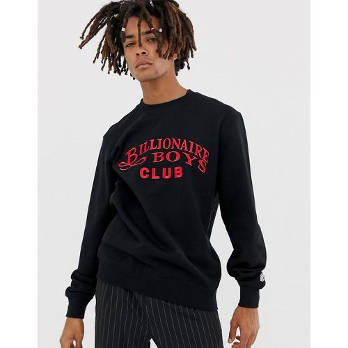Sweat-shirt brodé avec logo en écriture cursive - Billionaire Boys Club - Shopsquare