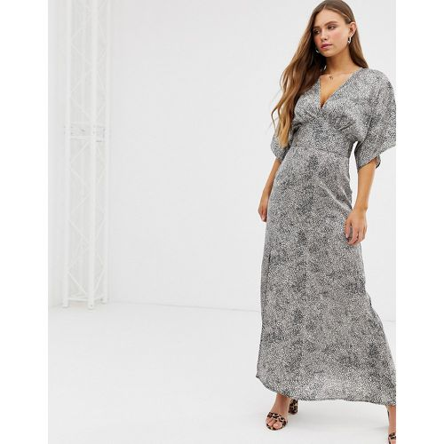 Robe longue style kimono - QED London - Shopsquare