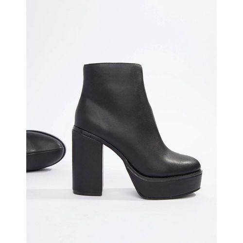 Bottines à plateforme - London Rebel - Shopsquare