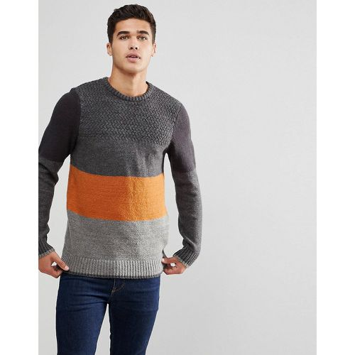 Pull à rayures color block - Blend - Shopsquare