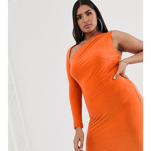 Robe moulante asymétrique - Club L London Plus - Shopsquare