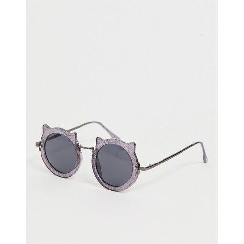 2749046800 Lunettes de soleil rondes forme tête de chat - Éclat - Skinnydip -  Shopsquare
