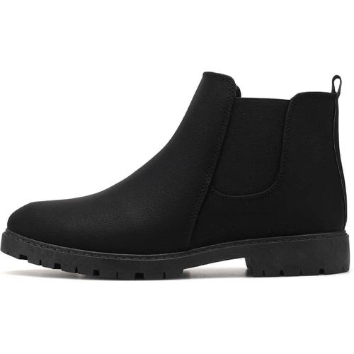 Casual Bout rond Noir Bottes homme - SHEIN - Shopsquare