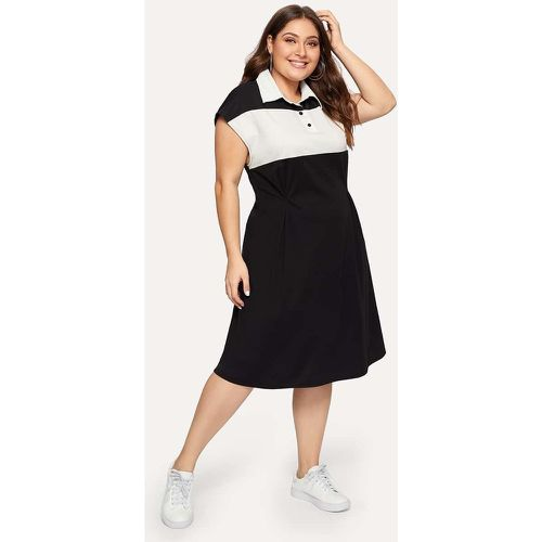 Robe polo bicolore - SHEIN - Shopsquare