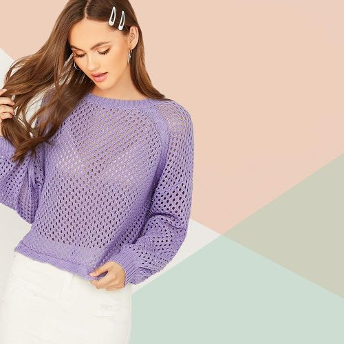 Top ajouré transparent - SHEIN - Modalova