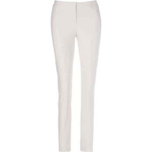Pantalon stretch / blanc - Madeleine - Shopsquare