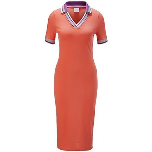Robe polo / / orange - Madeleine - modalova