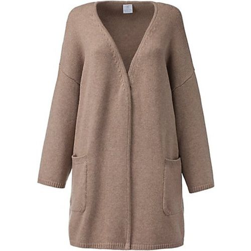 Cachemire Gilet. Pur cachemire / taupe - Madeleine - Shopsquare
