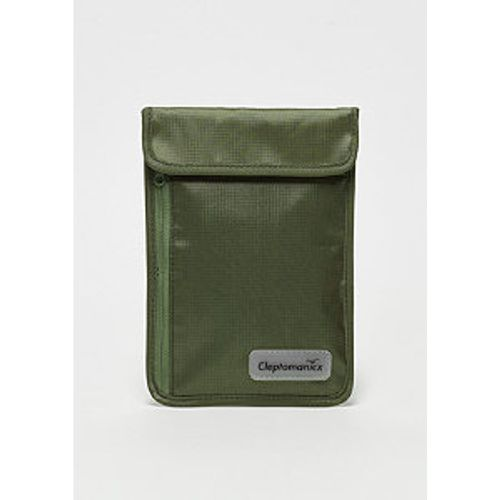 Cleptomanicx Neck Pouch dusty olive - cleptomanicx - Shopsquare
