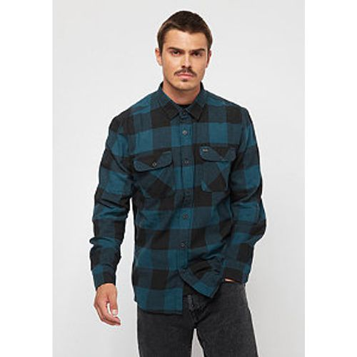 Bowerly LW Flannel black teal - brixton - Shopsquare