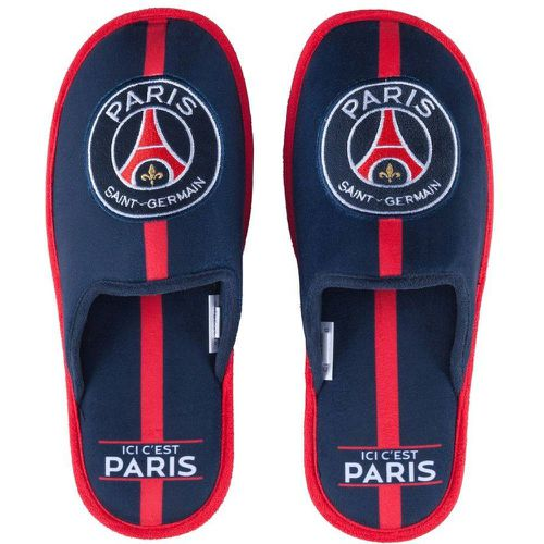 Pantoufles PSG Bleu - MADE IN SPORT - Shopsquare