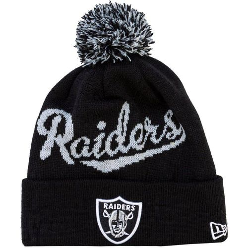 Mens Oakland Raiders Bobble Hat - new era - modalova