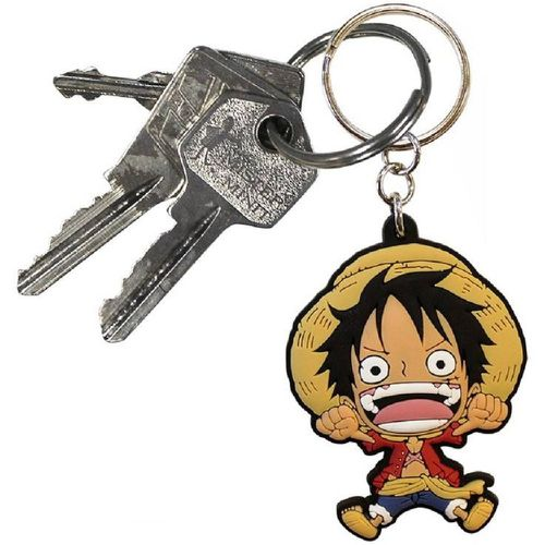 ONE PIECE Porte-clés PVC Luffy - ONE PIECE - Shopsquare