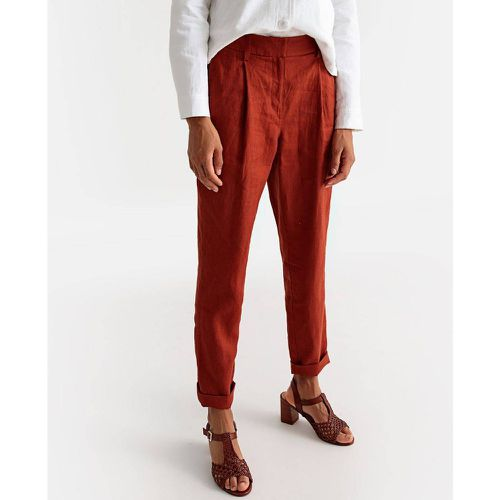 Pantalon droit pur lin - LA REDOUTE COLLECTIONS - Shopsquare