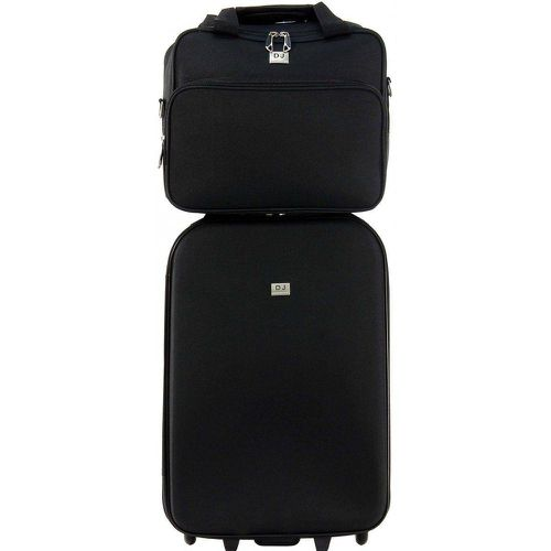 Lot Valise Cabine et Reporter Souple - DAVID JONES - Shopsquare