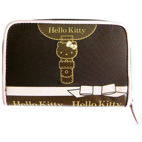 Portefeuille Hello Kitty chocolat noeud by - CAMOMILLA - Shopsquare