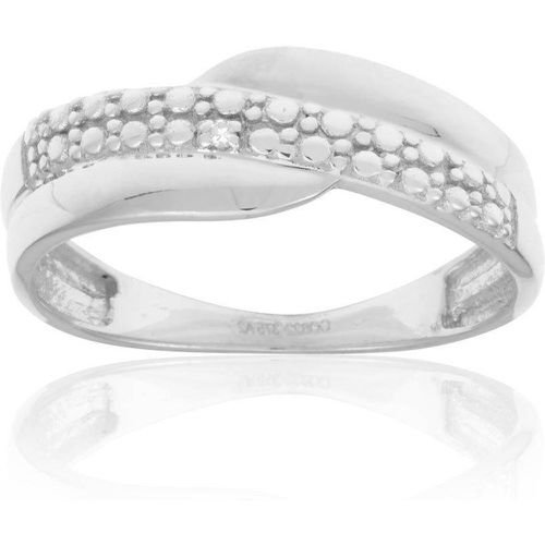 Bague Or 375/1000 Diamant - CLEOR - Shopsquare