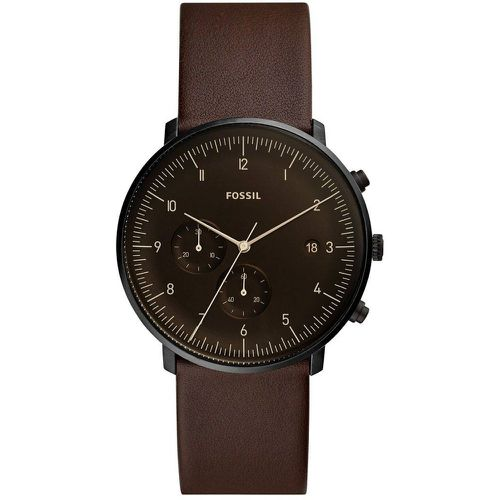 Montre Analogique Cuir CHASE - Fossil - Shopsquare