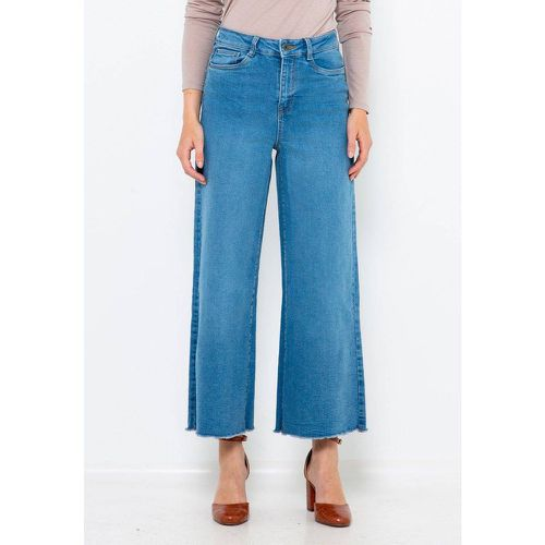 Pantalon large denim - CAMAIEU - Shopsquare