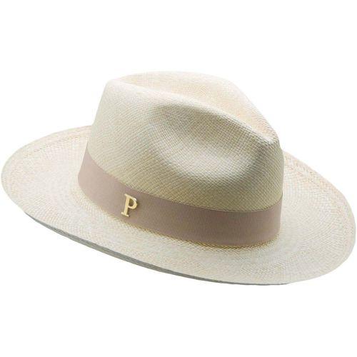 42172d4d7c985 Chapeau panama en paille écru ruban interchangeable Linea - PANAMES AND CO  - Shopsquare