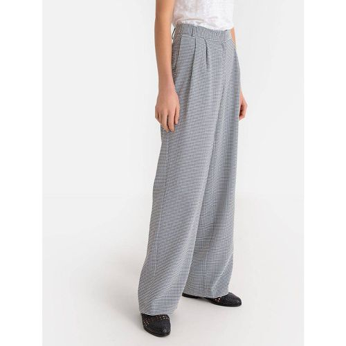 Pantalon large imprimé vichy - LA REDOUTE COLLECTIONS - Shopsquare