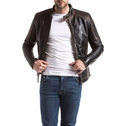 Blouson en cuir - BLUE WELLFORD - Shopsquare