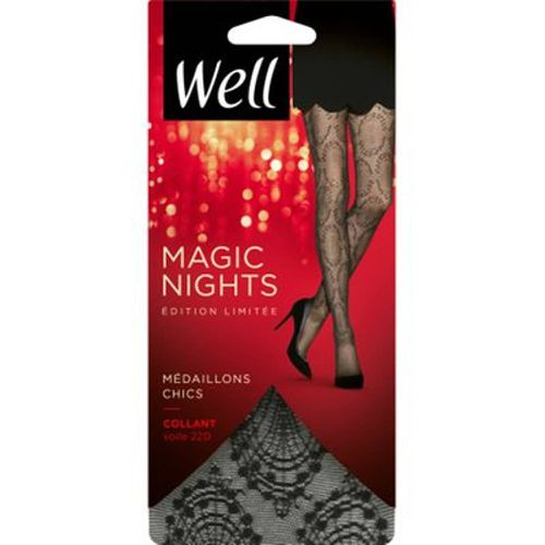 Collant Voile Magic Nights Médaillons Chics 22D - WELL - Modalova