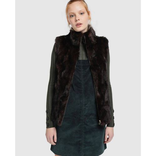 Gilet cuir zippé - EASY WEAR - Shopsquare
