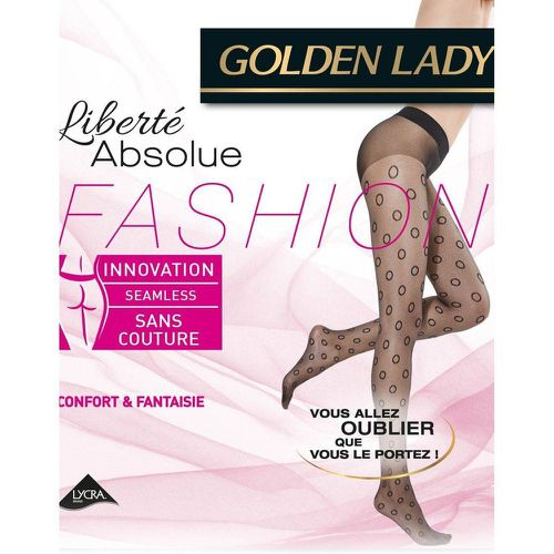 Collant Liberté Absolue Fashion Ring - GOLDEN LADY - Shopsquare