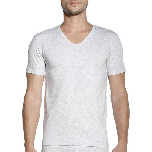 T-shirt homewear col V en coton - Replay - Modalova