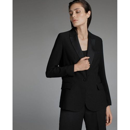 Veste smoking - WOMAN EL CORTE INGLES - Modalova