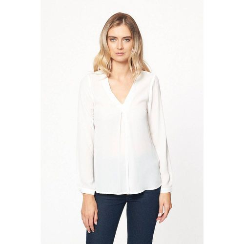 Blouse fluide unie - BEST MOUNTAIN - Modalova