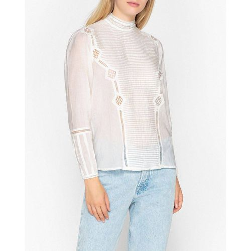 Blouse col montant, manches longues LUCY - BERENICE - Shopsquare