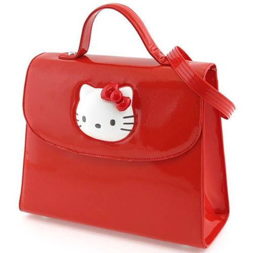 Petit sac à main Hello Kitty Glossy rouge By - CAMOMILLA - Shopsquare