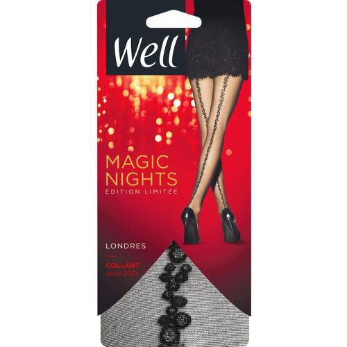 Collant Voile Magic Nights Londres 20D - WELL - Modalova