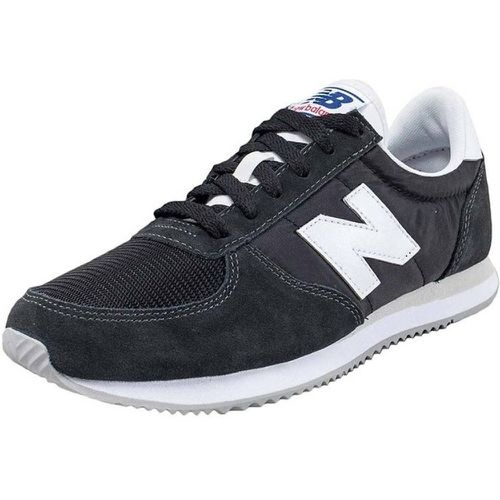 Baskets basses Nubuk et Textile - New Balance - Shopsquare