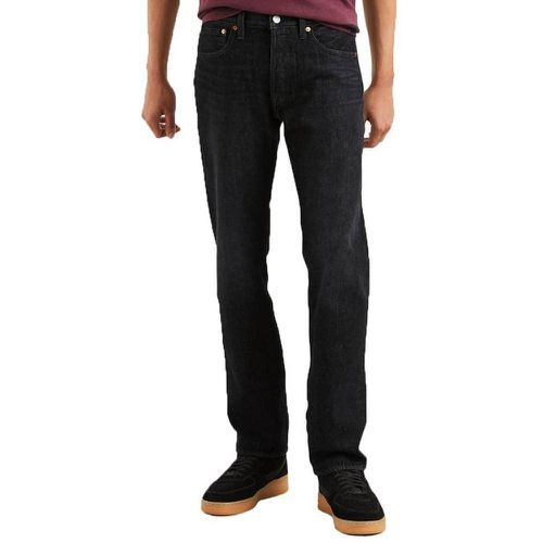 Jean 501 Original fit Eyes en coton stretch indigo - Levi's - modalova