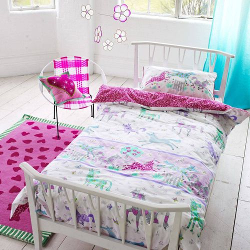 Drap housse enfant en coton, Horsing Around - Designers Guild - Shopsquare