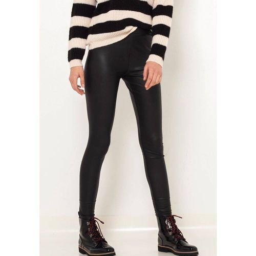 Legging long simili cuir - CAMAIEU - Shopsquare