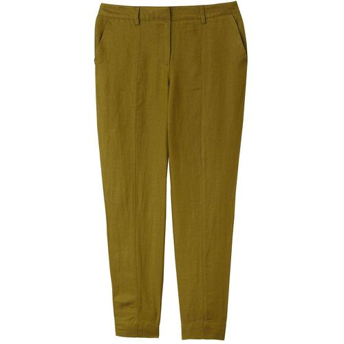 Pantalon carotte en lin viscose - LA REDOUTE COLLECTIONS - Shopsquare