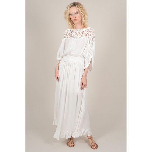 ff8b1aa5e75e8 Robe longue à dentelle - MOLLY BRACKEN - Shopsquare