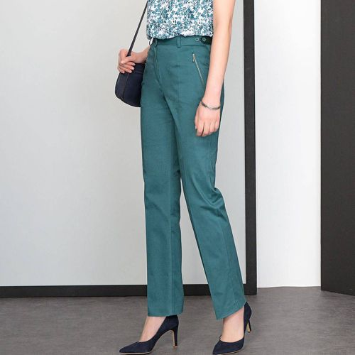 Pantalon, satin de coton stretch - Anne weyburn - Shopsquare