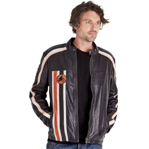 Veste Moto Cuir Veritable Retro - Joe Browns - Shopsquare