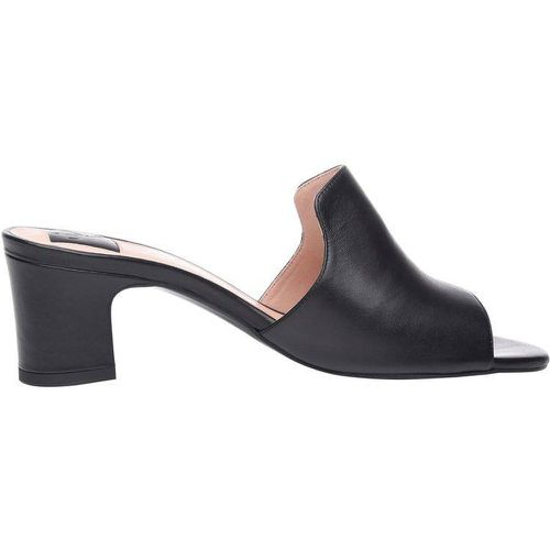 No. 16 WP , Mules à talons , Cuir - SHOEPASSION - Shopsquare