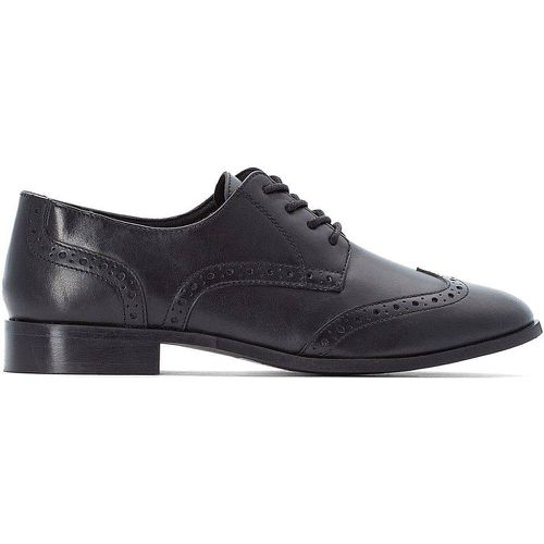 Derbies style Richelieu en cuir - LA REDOUTE COLLECTIONS PLUS - Shopsquare