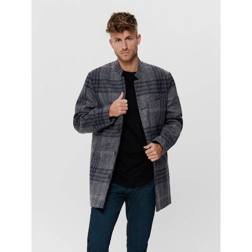 Manteau Carreaux - Only & Sons - Modalova