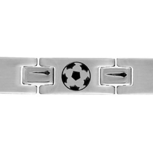 Bracelet Acier Ballon Football Soccer - SO CHIC BIJOUX - modalova