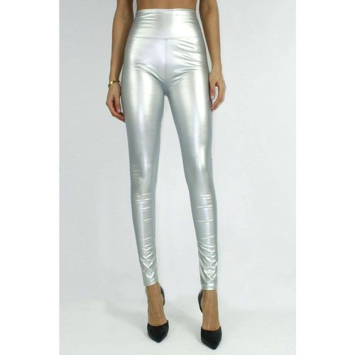 Leggings brillant silver - KEBELLO - Shopsquare