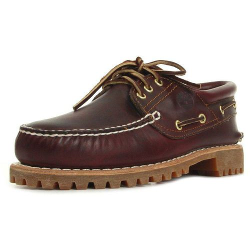 Chaussures Traditional Handsewn 3 Eye Lug Burgundy - Timberland - Shopsquare