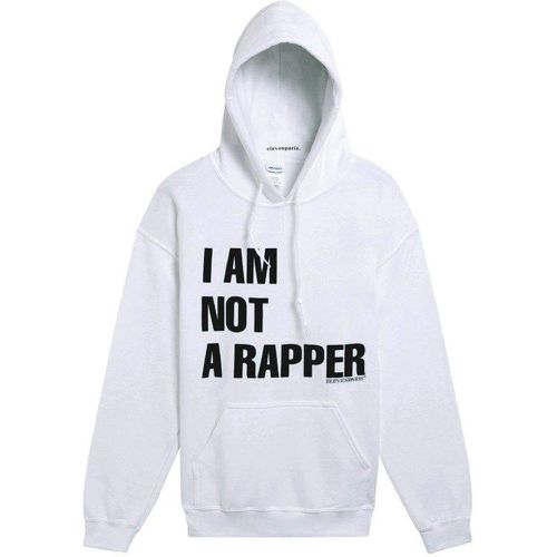 Sweat à capuche I AM NOT A RAPPER - Eleven Paris - Shopsquare